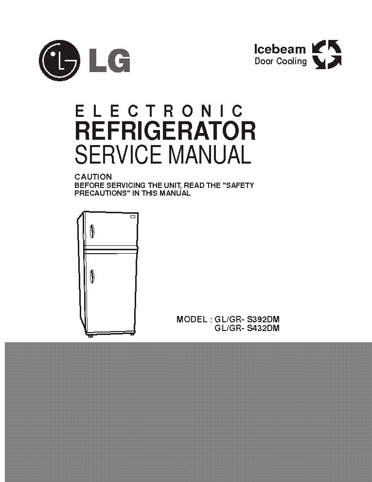 lg gl [grsdm gl grsdm service manual free download, schematic